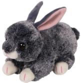 TY 42266 Smokey, Hase Grau 15cm, Beanie Babies, Ostern Limitiert - 1