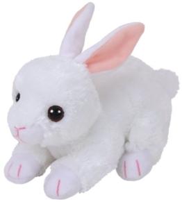 TY 42267 Cotton, Hase Weiß 15cm, Beanie Babies, Ostern Limitiert - 1