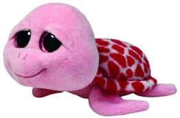 TY 7136110 - Shellby - Schildkröte, 15 cm, pink - 1