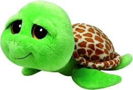 TY 7136989 - Zippy Buddy - Schildkröte, Large, 24 cm, grün - 1