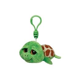 Ty Zippy Schildkröte Beanie Boos Schluesselanhaenger gruen 8,5 cm - 1