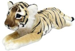 Wagner Plüschtier Tiger Baby - liegend - braun - 50 cm - 1