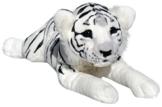 Wagner Plüschtier Tiger Baby - liegend - weiss - 50 cm - 1