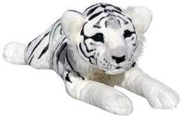Wagner Plüschtier Tiger Baby - liegend - weiss - 60 cm - 1