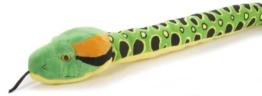 Wild Republic 89089 - Schlangesss, Plüsch Anaconda, 137 cm - 1