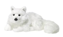 WWF Plüsch Kollektion WWF16981 - Plüschfigur Polarfuchs Liegend 25 cm, Plüschtiere - 1