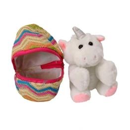 Mini Einhorn im Ei Kuscheltier - Mini-Einhorn im Ei Stofftier Plüschtier - 1