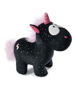 Nici 41420 Theodor and Friends Kuscheltier Einhorn Carbon Flash, 32 cm - 1