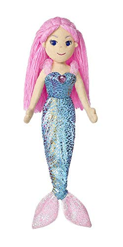 Aurora World 33068 - Sea Sparkles - Meerjungfrau Nixie 18In, 46 cm - 1