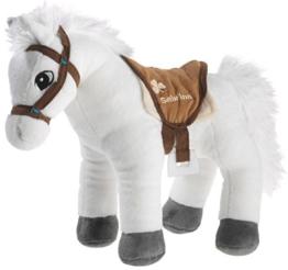 Bibi & Tina 637573 Plüschtier, Pferd, weiß mit braun - 1