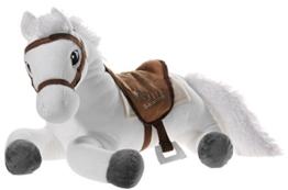 Bibi & Tina 637672 Plüschtier, Pferd, weiß mit braun - 1