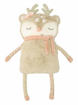 Bieco Plüsch REH Spieltier Baby | ca. 55 cm | niedliches Baby Kuscheltier | Baby Spielzeug | Kuscheltier Baby | Baby Einschlafhilfe | Kuscheltiere für Babys | Stofftier Baby | Kuscheltier Pferd - 1