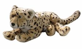 Carl Dick Gepard liegend aus Plüsch ca. 44cm 2382 - 1