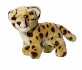 Carl Dick Gepard stehend aus Plüsch ca. 15cm lang, 13cm hoch 2910 - 1