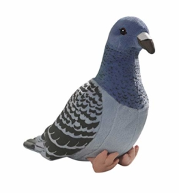 Carl Dick Taube, Stadttaube blau aus Plüsch ca. 24cm 3299 - 1