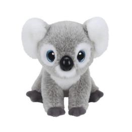 Carletto Ty 90235 - Kookoo Koala mit Glitzeraugen, Classic, 21 cm, grau - 1