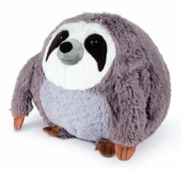 COZY NOXXIEZ Kuschelige Plüsch Kinder Handwärmer - Kuscheltier, Stofftier, Kopfkissen als Flauschiges Wärmekissen Plüschtier für Bett, Auto und Zuhause (Sloth) - 1