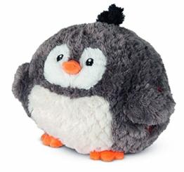 COZY NOXXIEZ Kuschelige Plüsch Kinder Handwärmer - Kuscheltier, Stofftier, Kopfkissen als Flauschiges Wärmekissen Plüschtier für Bett, Auto und Zuhause (Penguin) - 1