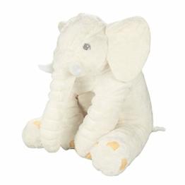 Elefant Plüsch Cuddle Toys Stofftier Plüschtier Kuscheltier 60 cm Lang Figur für Baby Jungen Mädchen Kinder - 1
