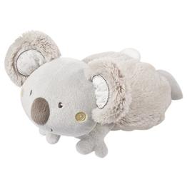 Fehn 064230 Wärmetier Koala – wohltuendes Traubenkernsäckchen in niedlicher Koala-Optik für Babys und Kleinkinder ab 0+ Monaten – Maße: 22 cm - 1
