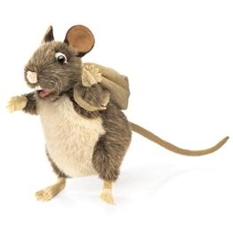 Folkmanis Puppets 2847 - Ratte, sammelt gern - 1