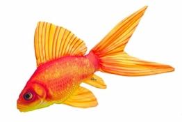 GABY Fish Pillows Goldfisch Kissen, Mehrfarbig, Medium - 1