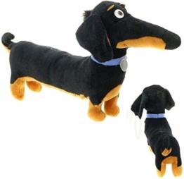 Gefüllte Spielzeug Hund 18 * 10 Sachen Neue Heiße Cartoon Dackel Niedliche Plüschtiere Schwarz Spielzeug Urlaub Geburtstagsgeschenk Kinder Dackel Hund Chuangze - 1