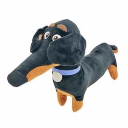 GHJU Plüschtiere 65 cm Kawaii Buddy Hund Dackel Plüschtier Triver Plüschtiere Puppe Haustier-Welpen-Baby-Kind-Kind-Jungen-Spielzeug Geburtstags-Geschenk-Hauptdekor QingQiao - 1