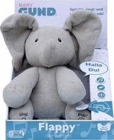 GUND Flappy, der singende und sprechende Elefant - deutsch, ca. 30 cm - 1