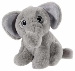 Heunec 275379 Plüschtier, Elefant, grau - 1