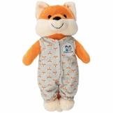 """Hosenmax """"Flinker Fuchs Kuscheltier - 20 cm - Plüschtier Fuchs, Plüschfuchs, Puppe Mädchen und Jungen, Baby und Kinder - Abnehmbarer Schlafsack - 1"""