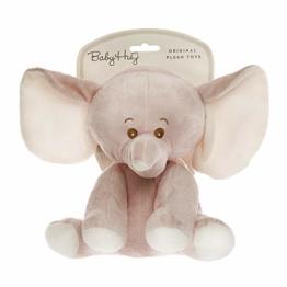 HUG ME 3830047237797 Elefant Kuscheltier, Rosa - 1