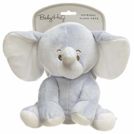 HUG ME Adora_238688 Me Elefant Kuscheltier für Babys, Blau - 1
