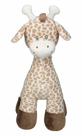 Idena 40208 - Plüschtier XXL Giraffe in hellbraun und beige, mit kuscheligem Fell, für Kinder ab 3 Jahren, ca. 70 cm - 1