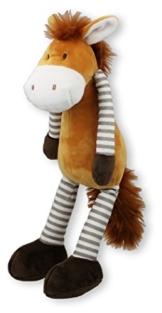 Inwolino 7743 - Kuscheltier Schlenkerpferd, 32 cm, Schmusetier, Schlenkertier, Pferd - 1