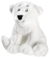 Kleiner Eisbär 635777 sitzend Plüschtier, groß - 1