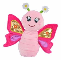Kögler 75947 - Laber Schmetterling Sweetie, Labertier mit Aufnahme- und Wiedergabefunktion, plappert alles witzig nach und bewegt sich, ca. 24 cm groß, ideal als Geschenk für Jungen und Mädchen - 1