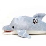 Kuscheltiere.biz Delfin Marlin Delphin Doplhin Tümmler 26 cm hellblau Plüschtier - 1