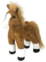 Lashuma Cuddlekins Plüschtier Braunes Pferd, Kuscheltier 30 cm - 1