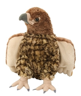 Lashuma Cuddlekins Plüschtier Falke, Kuscheltier Vogel 30 cm - 1