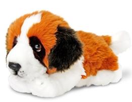 Lashuma Keel Toys Plüschtier Hund Berner Sennenhund, Bernhardiner liegend 30 cm - 1