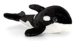 Lashuma Plüschtier Orca, Fisch aus Plüsch, Kuscheltier Wal, Stofftier Keel Toys 35 cm - 1