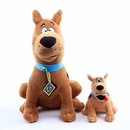 lhtczzb 2Pcs 18-36Cm Scooby DOO Hund Plüschtiere, Cartoon Anime Scooby DOO Weiche Kuscheltiere Kinder Für Kinder Geschenke - 1