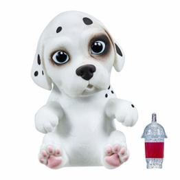 Little Live Pets 36710 - OMG Pet Dalmation, Baby Dalmatiner Hund zum Großziehen, Welpe mit Smoothie Fläschchen, Haustier zum Füttern mit 15 Sounds, Squishy und Soft Hundewelpe für Kinder ab 5 Jahren - 1