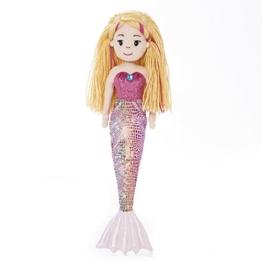 Mermaid Sea Sparkles Aurora Meerjungfrau Nixe Stoffpuppe Mädchen Puppe Plüsch: Art: Melody 45,5 cm, 13346 - 1