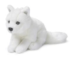 Mimex WWF00195 - Polarfuchs weich, 15 cm - 1