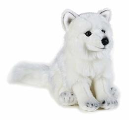 National Geographic 9770728 Polarfuchs Plüschtier, weiß - 1