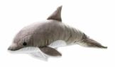 National Geographic 9770732 Delphin Plüschtier, grau - 1