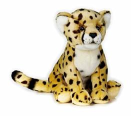 National Geographic 9770751 Gepard Plüschtier, gelb-braun - 1