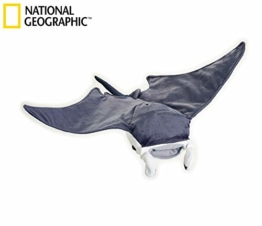 National Geographic Lelly Stofftier Mantarochen, 47cm, Naturfarben - 1